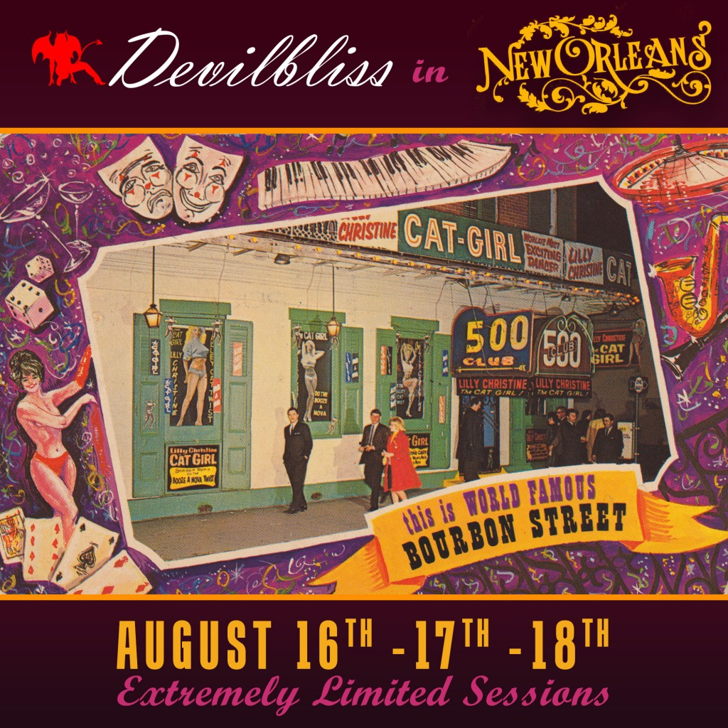 Castle Sessions, New Orleans August 16,17 & 18